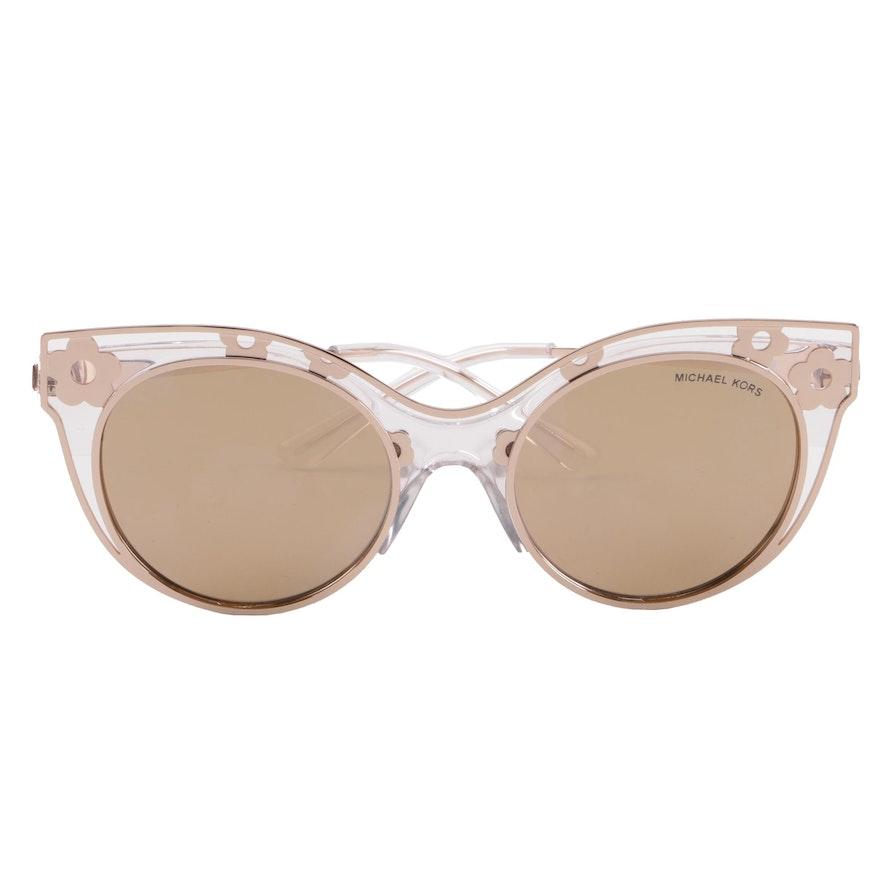 a289c40e7b4 Michael Kors MK1038 Melbourne Cat Eye Sunglasses with Case ...