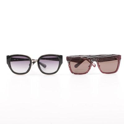 4cec3f7abd7 Diane von Furstenberg Grace and Daisy Sunglasses with Cases