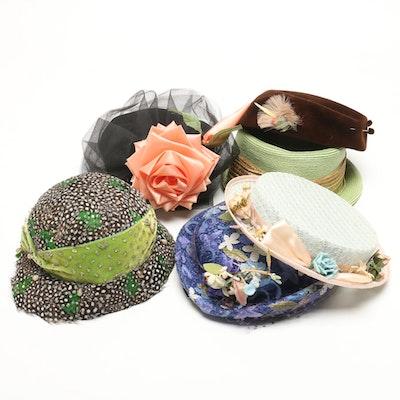 5d5373c64636a Women s Vintage Hats Including Chanda