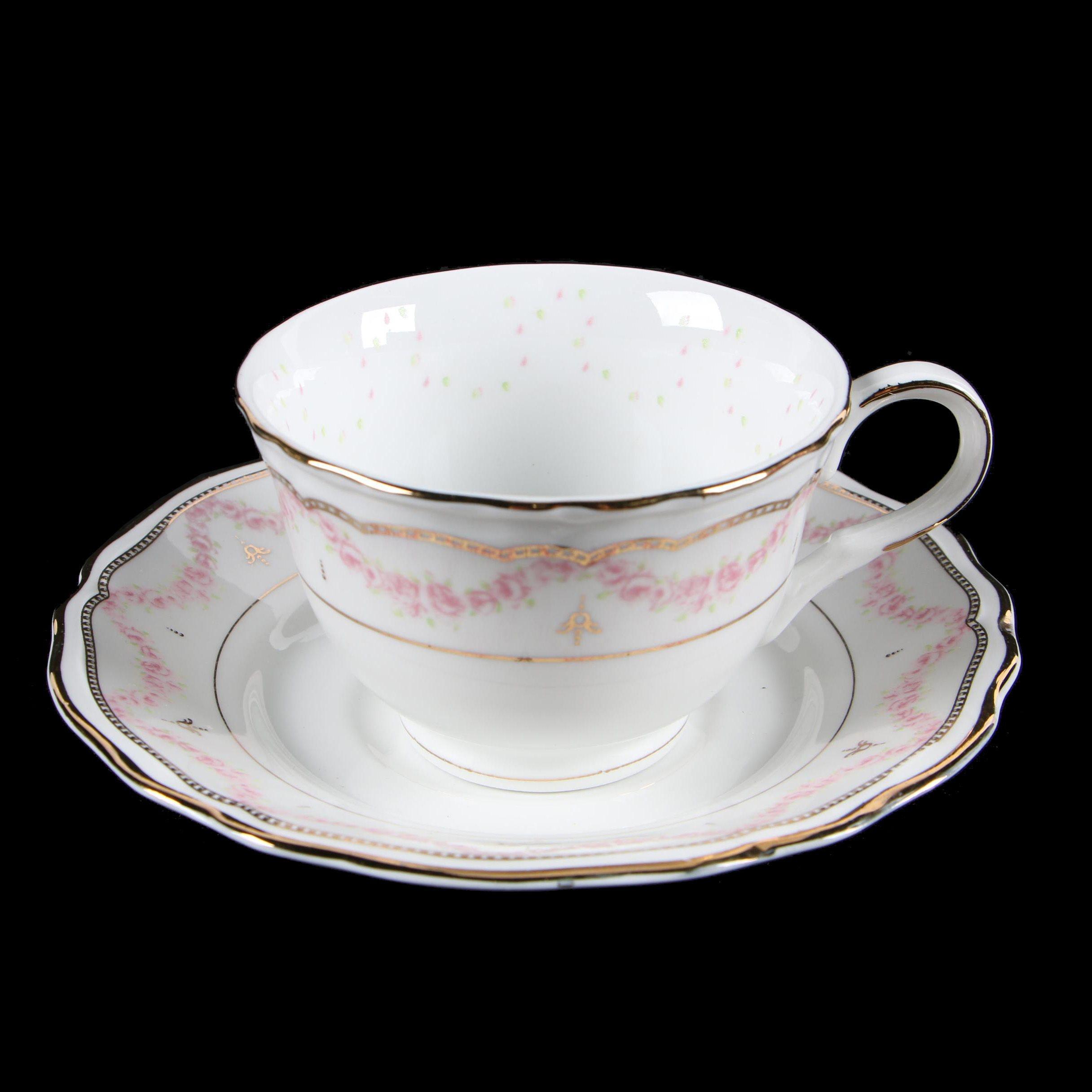 """Paul Burrell """"Royal Butler"""" Bone China Teacup and Saucer"""