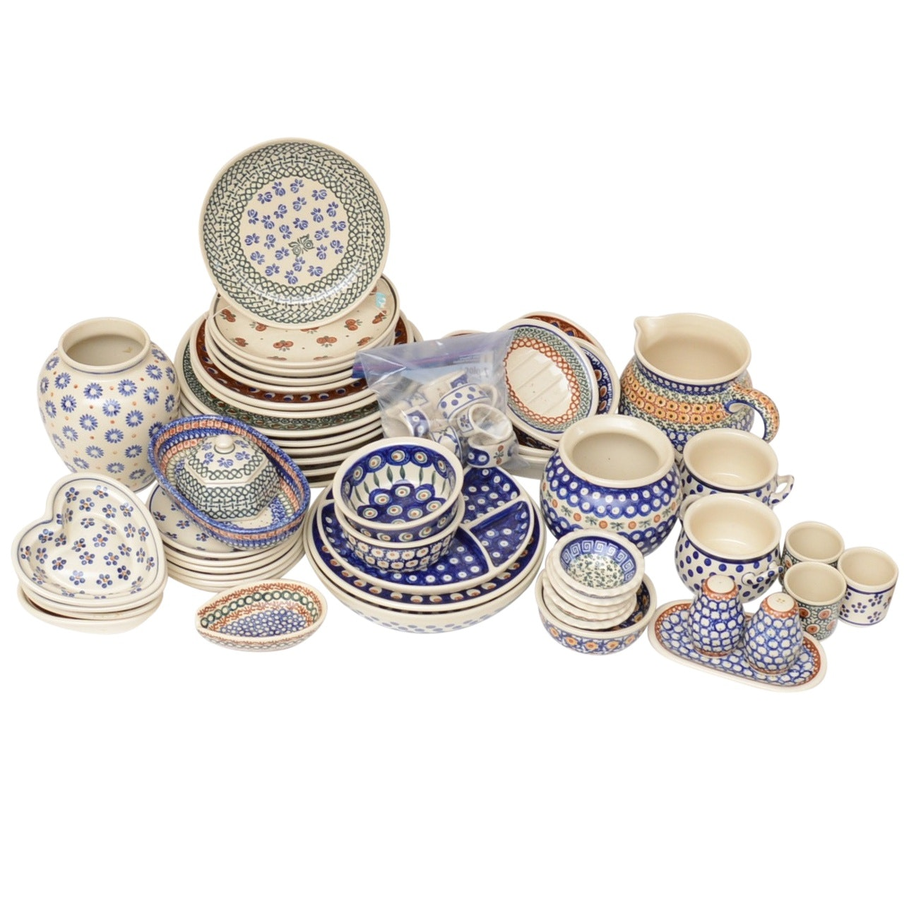 Boleslawiec Polish Pottery Serving Pieces