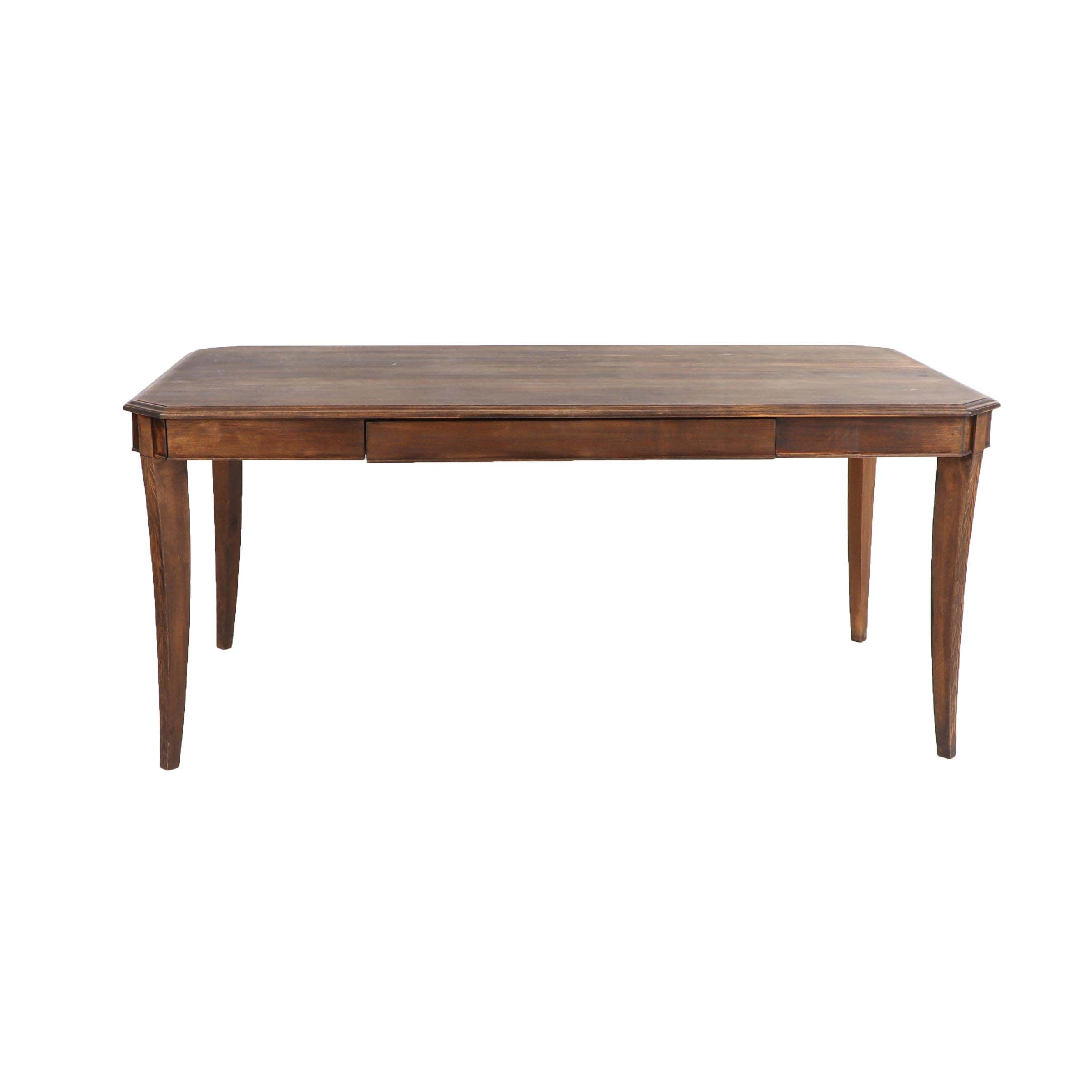 Wood Dining Table, 20th Century