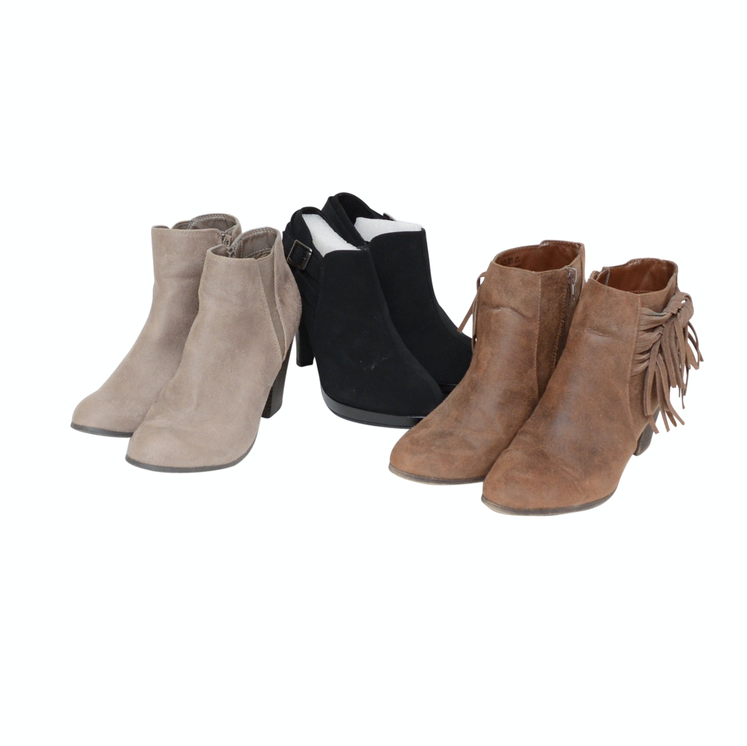 Fergalicious and Unlisted by Kenneth Cole Ankle Booties
