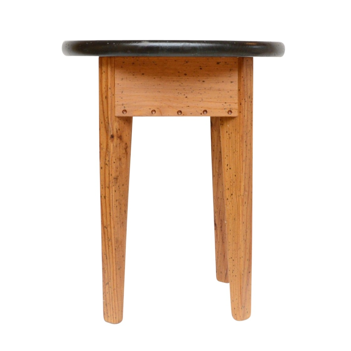 David Marsh Painted Pine Side Table, 20th Century