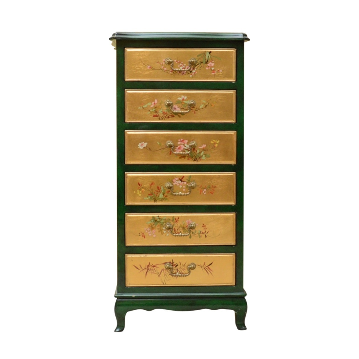 Japanese Hand-Painted Lingerie Chest