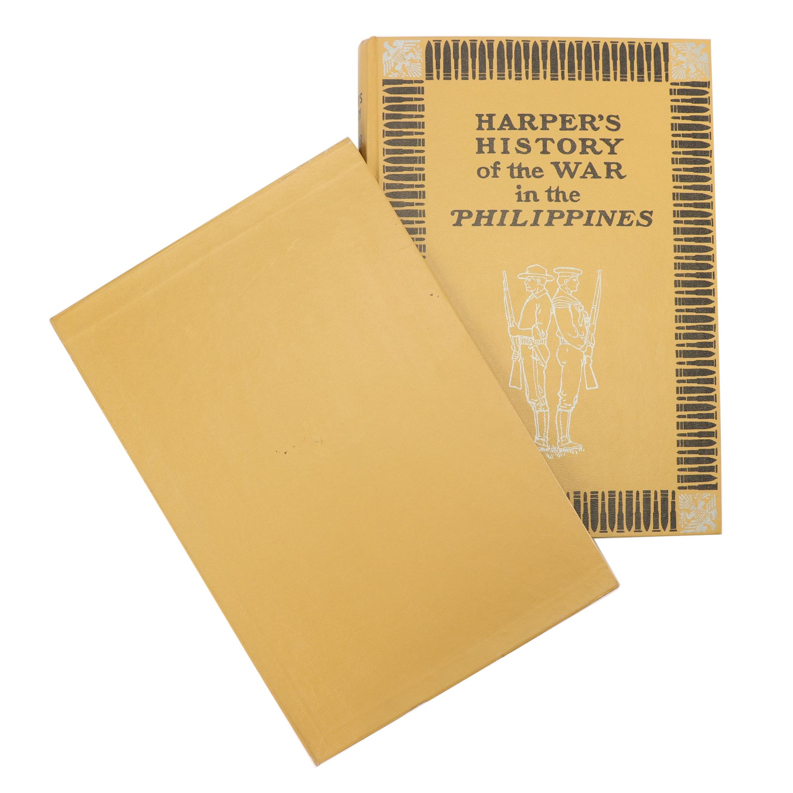 """1979 Limited Edition Facsimile """"Harper's History of the War in the Philippines"""""""