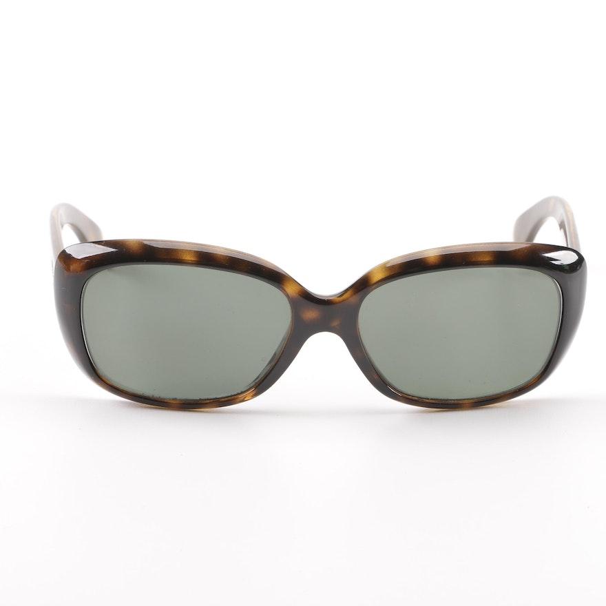 c6f3777e436c6 Ray-Ban RB 4101 Jackie Ohh Tortoiseshell-Style Polarized Prescription  Sunglasses   EBTH