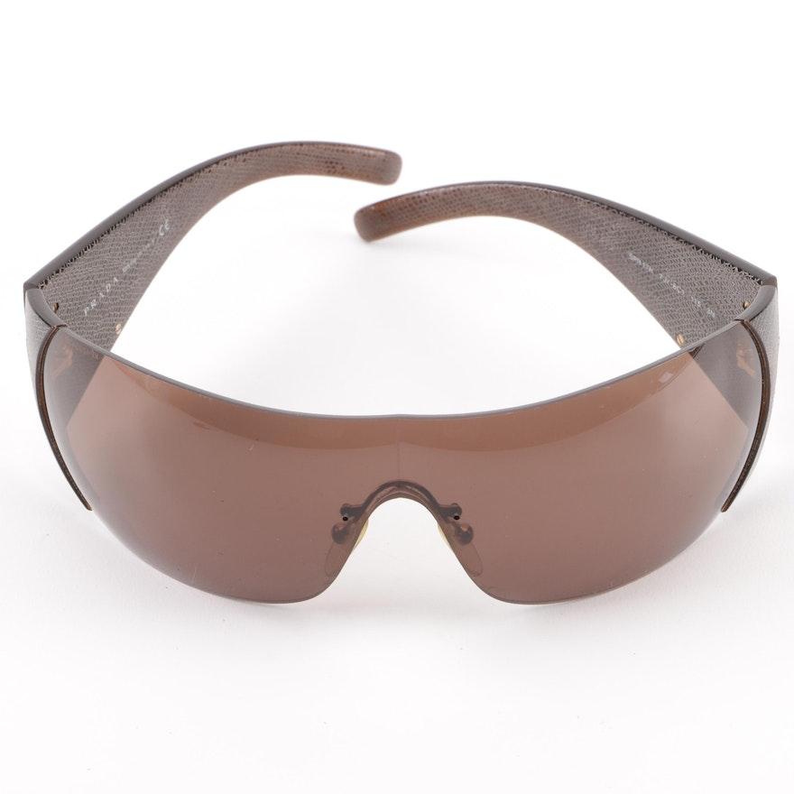 34a5a94740 Prada SPR 17H Shield Sunglasses