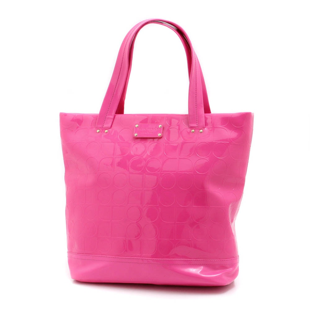 Kate Spade New York Pink Patent Leather Tote Bag