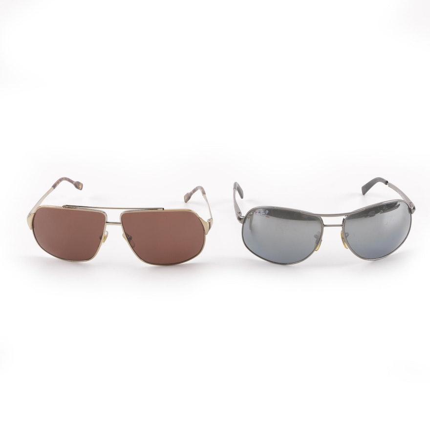 e55b8acbf41c5 Ray-Ban RB 3387 Polarized and Dolce   Gabbana D G 6087 Sunglasses   EBTH