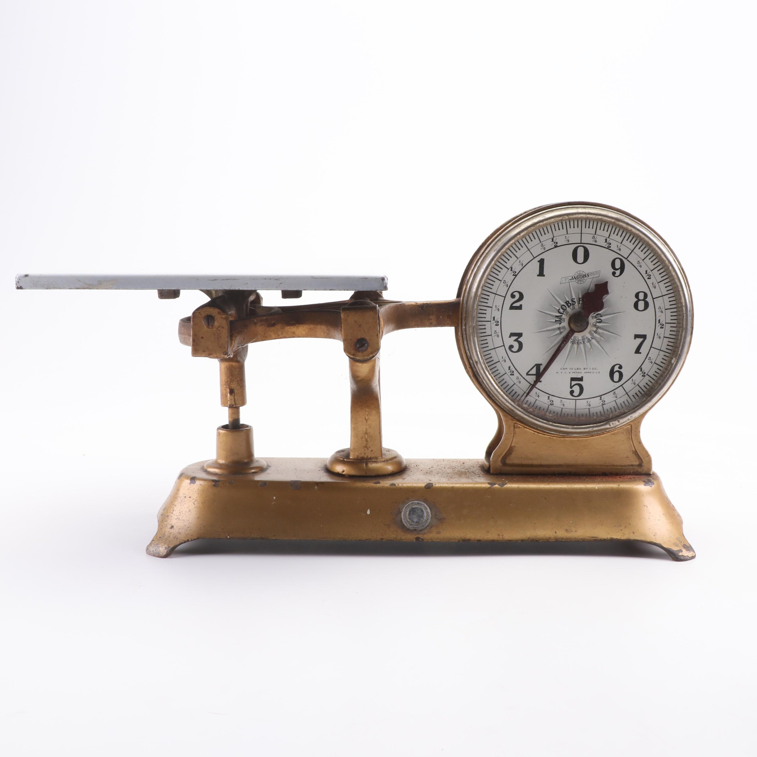 Jacobs Brothers Cast Iron Scale