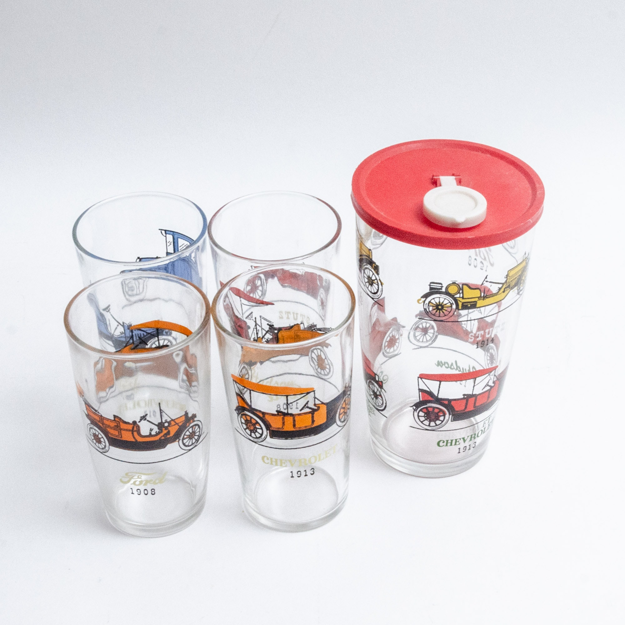 Ford Limited Edition Carafe and Highball Glasses
