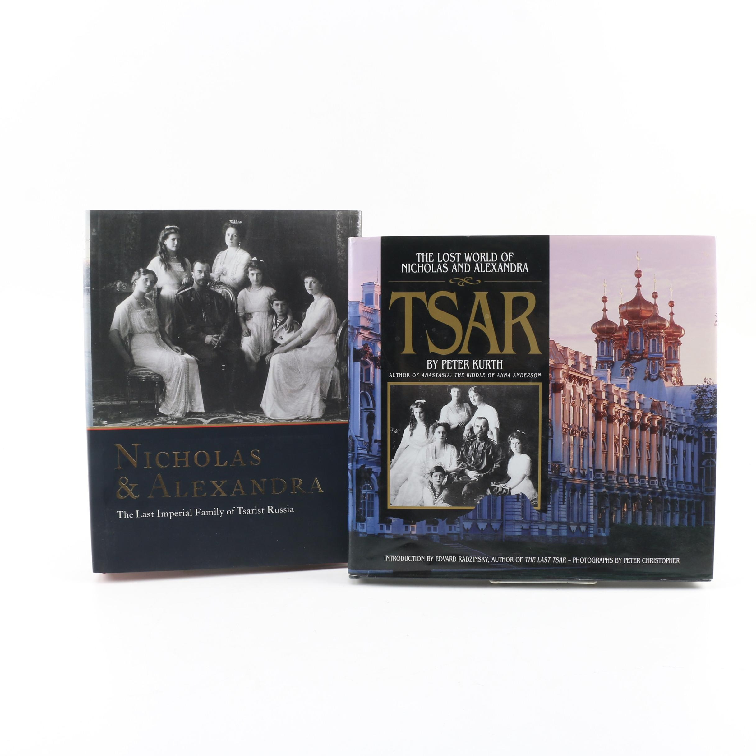 Books on Nicholas II and Alexandra of Russia