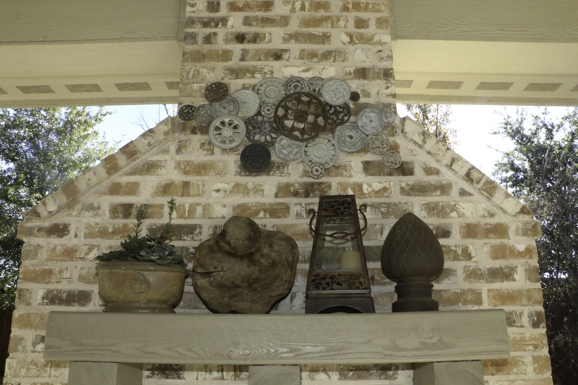 Faux Plant, Wall Hanging, Candle Lantern and More