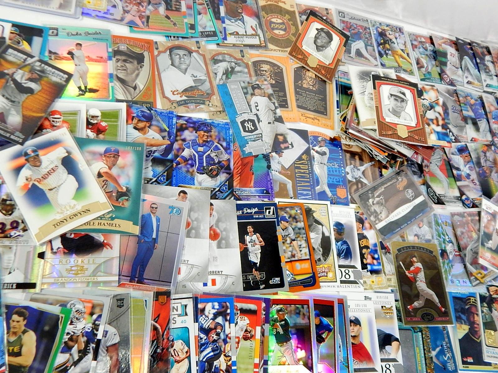 Star Rookie Insert Cards - Baseball, Football, and Basketball