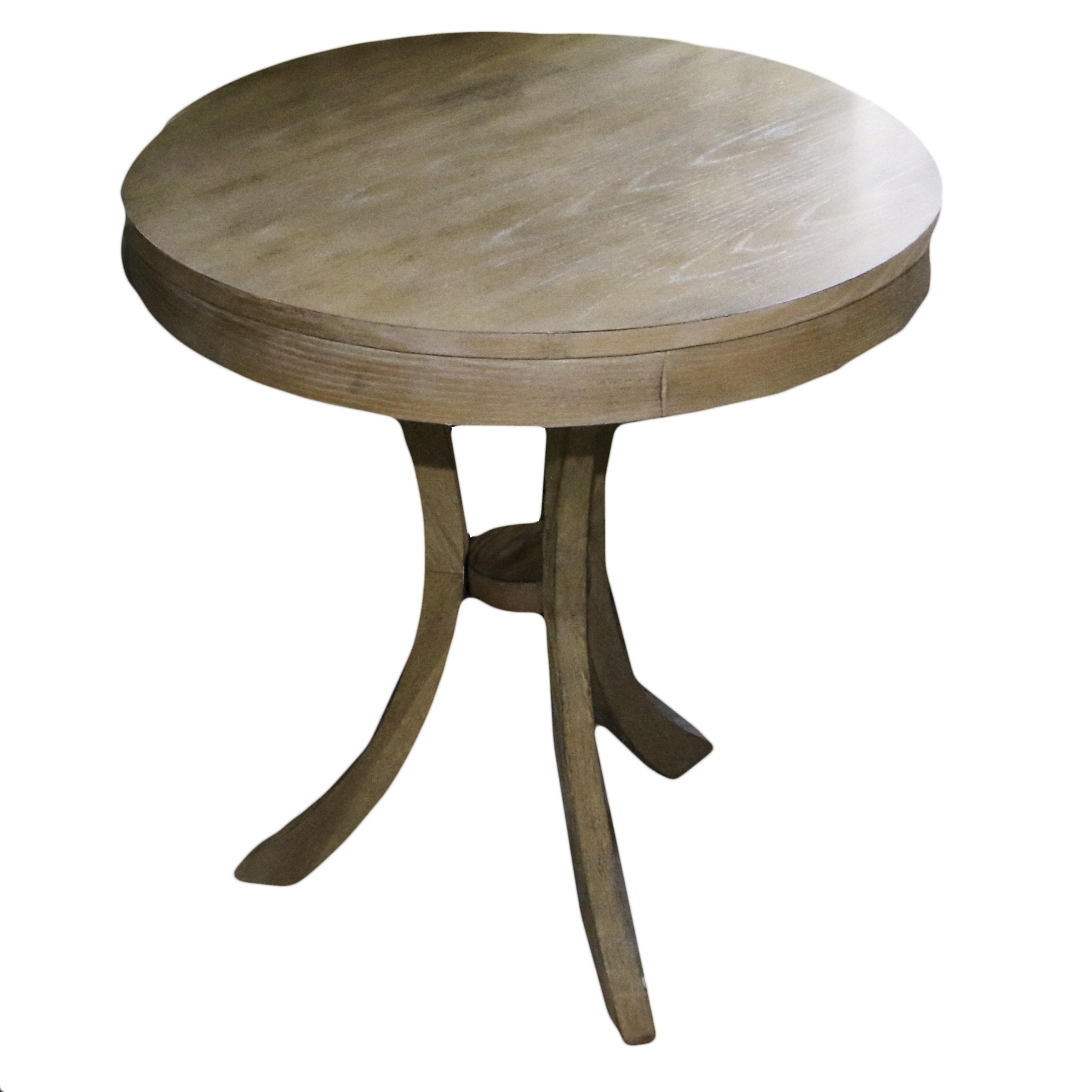 Contemporary Oak Side Table