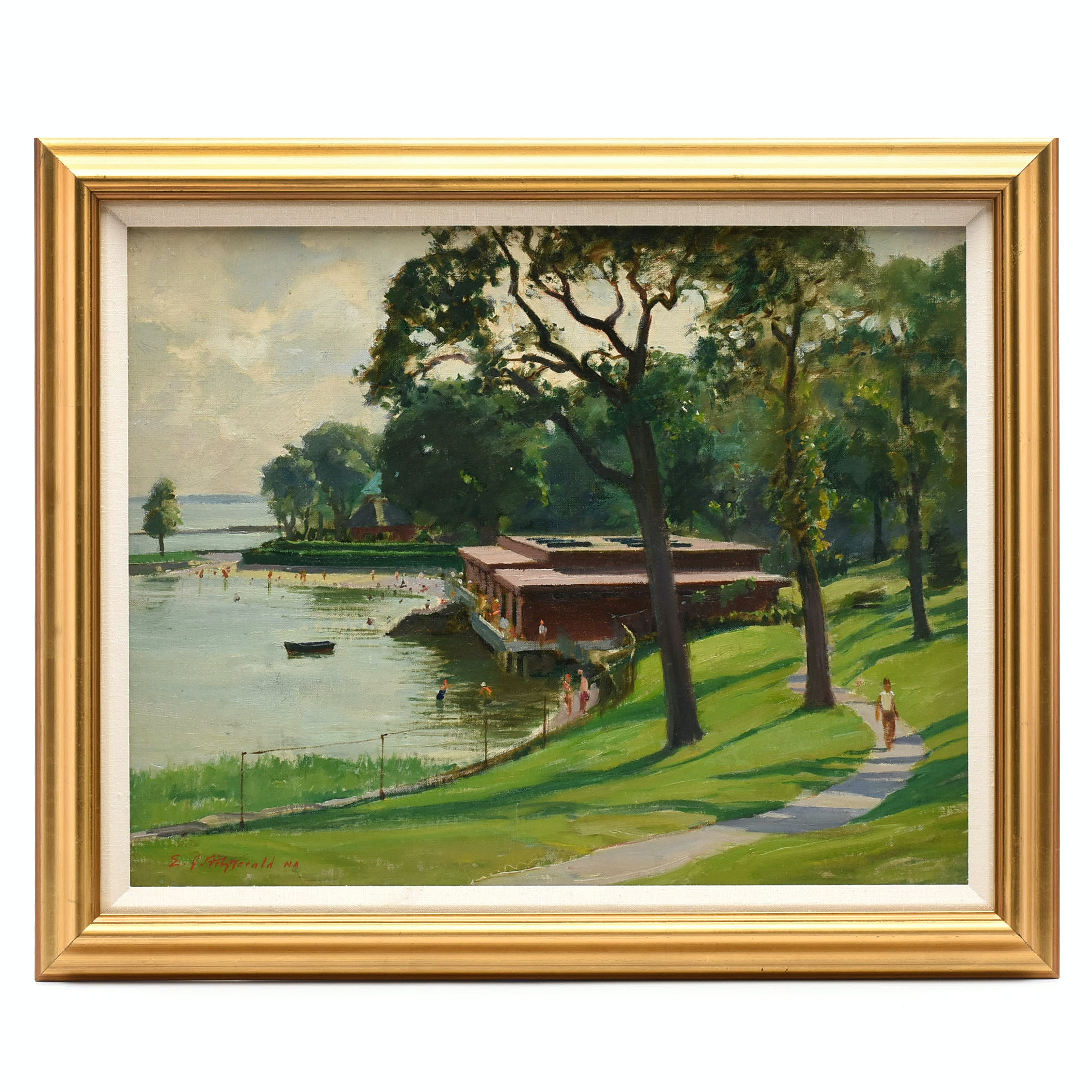 Edmond J. Fitzgerald Oil Painting