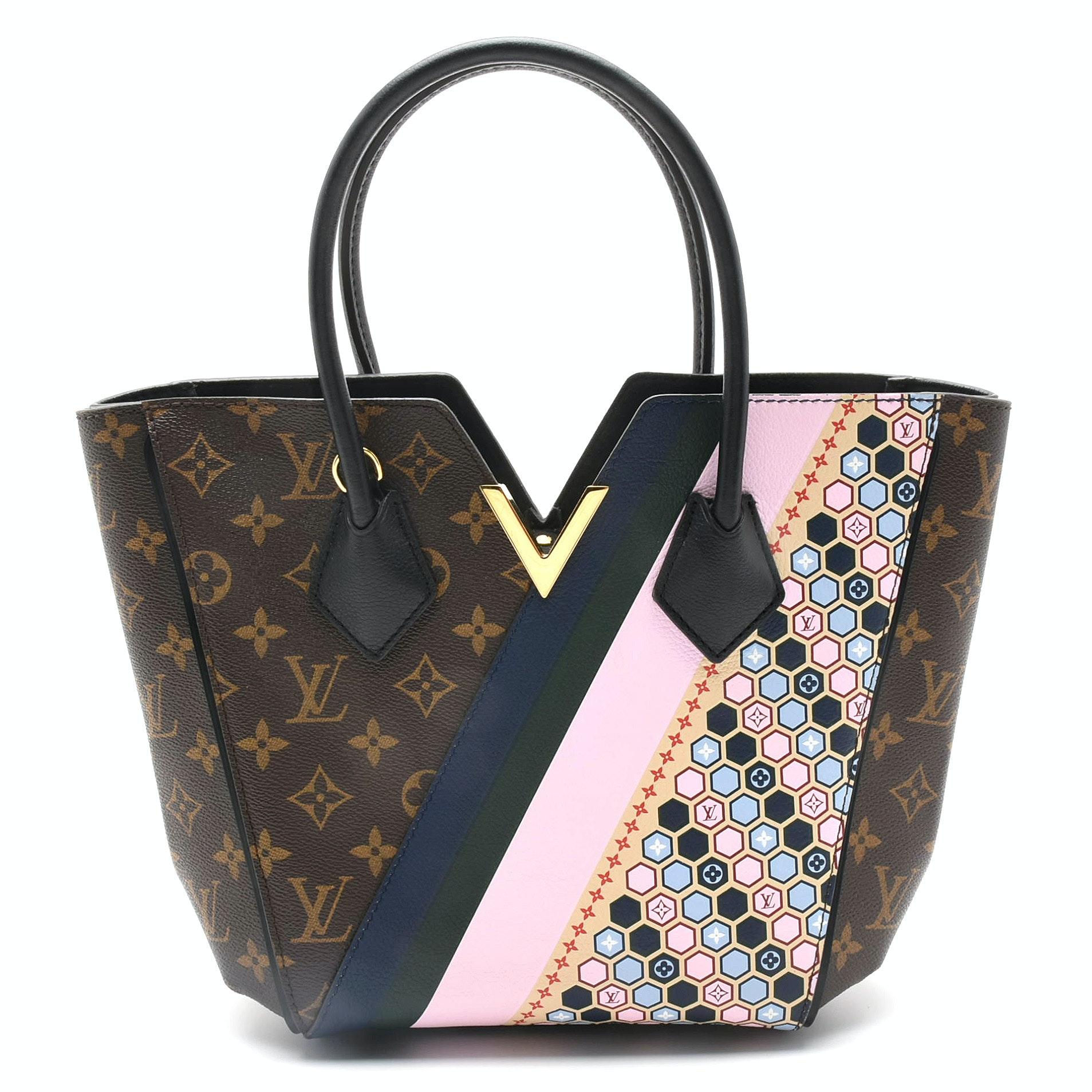"Louis Vuitton Cruise 2017 Limited Edition Monogram Canvas ""Kimono"" PM Bag"