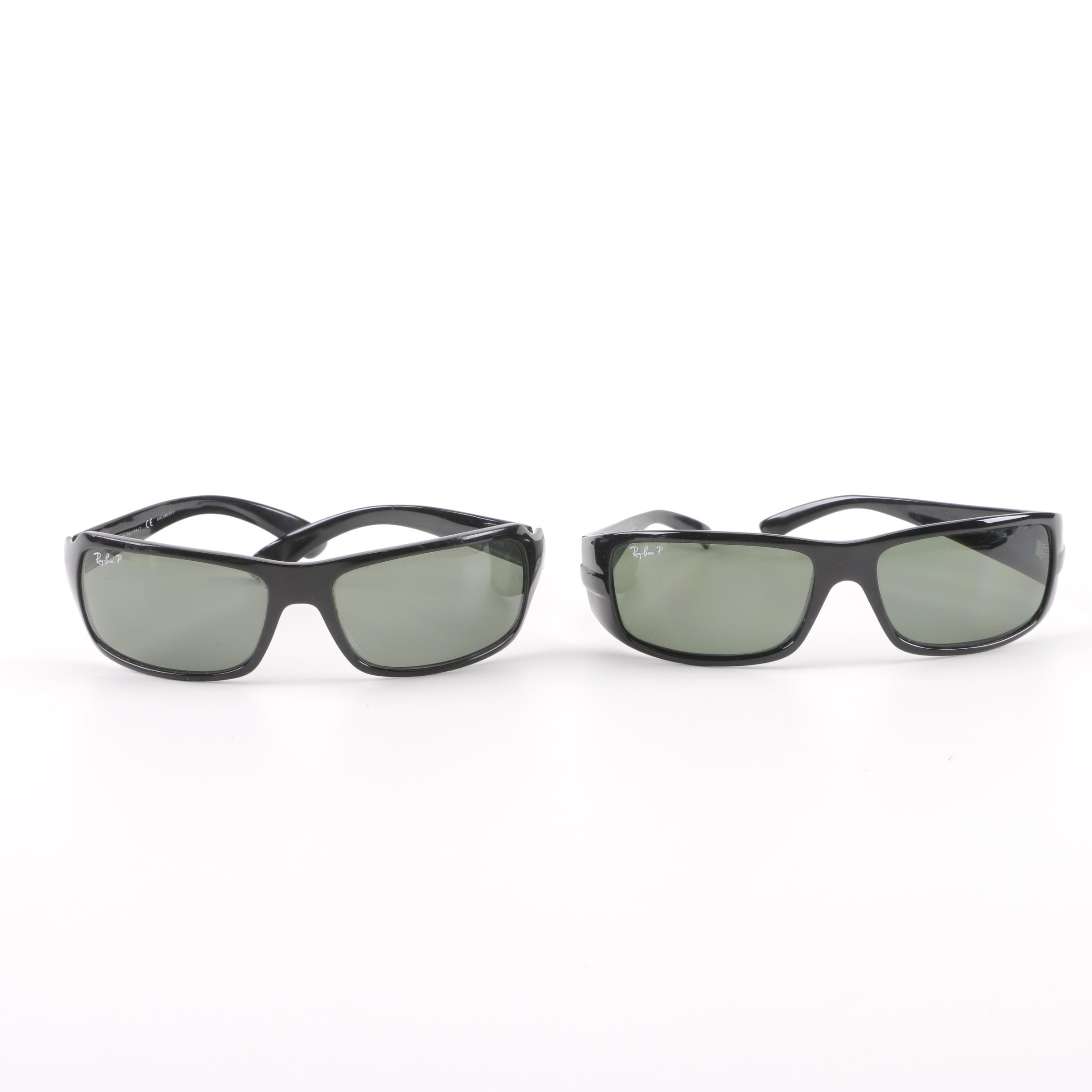 Ray-Ban RB 4057 and RB 4075 Polarized Sunglasses, Made in Italy