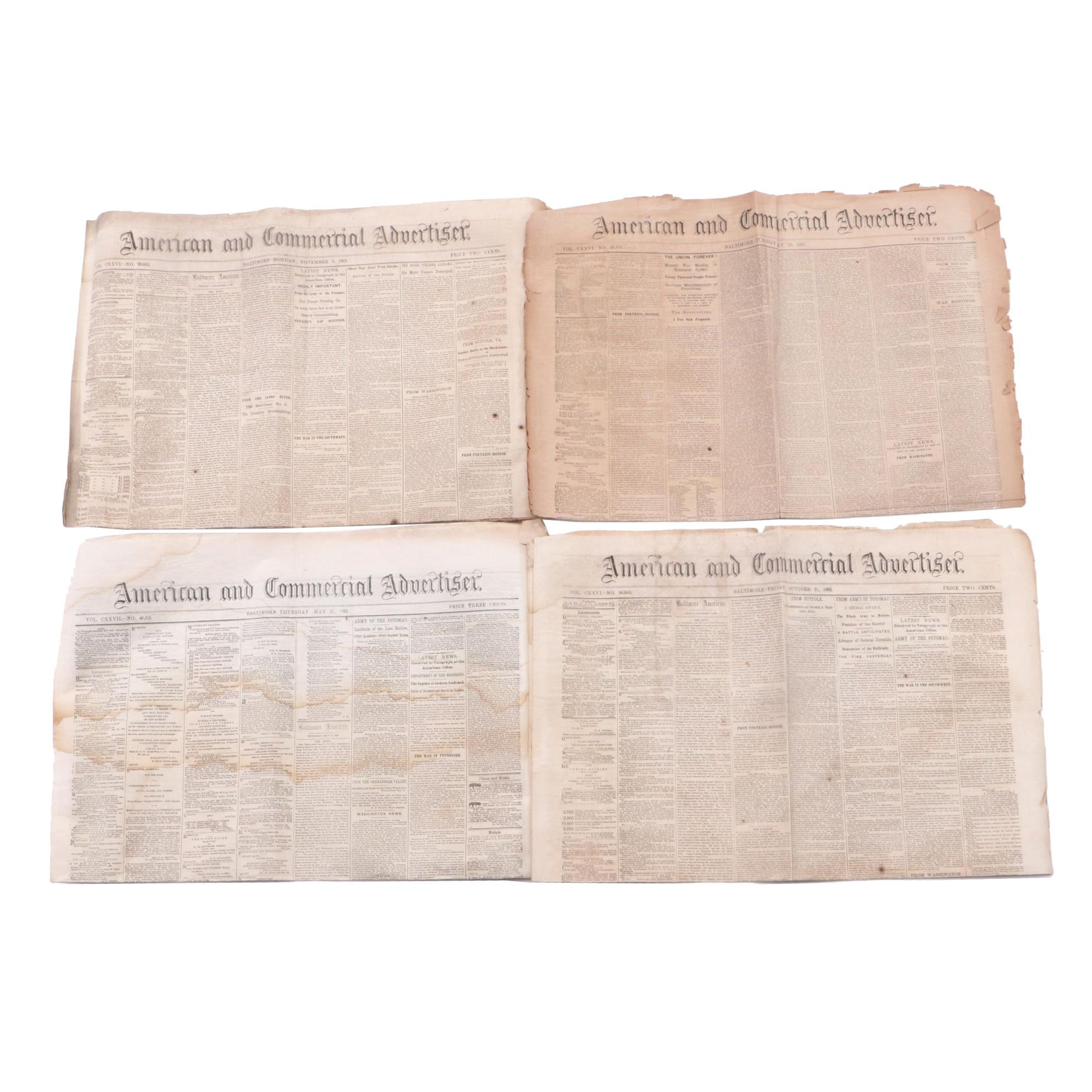 American Civil War Era Newspapers