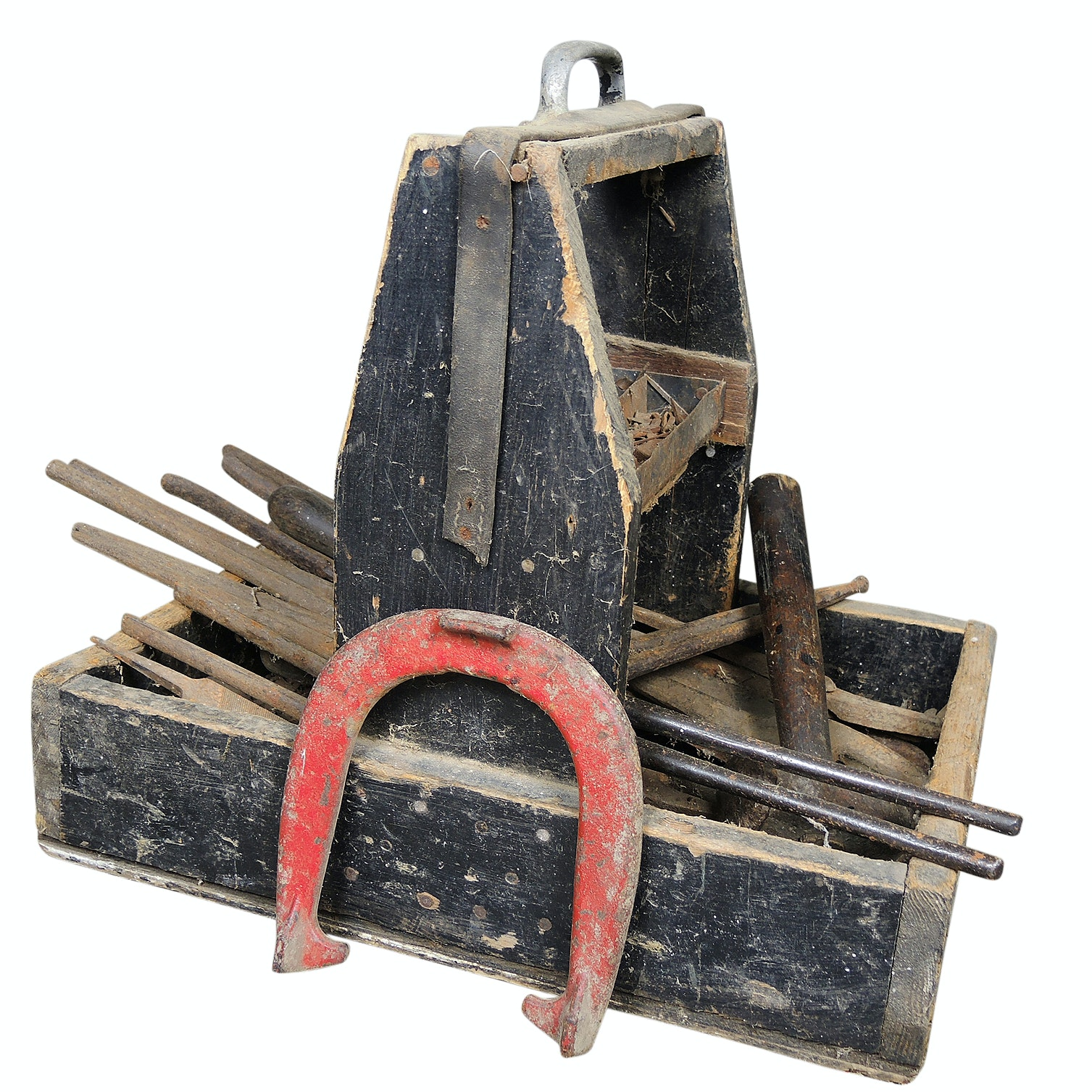 Blacksmith Tools and Farrier Tool Box