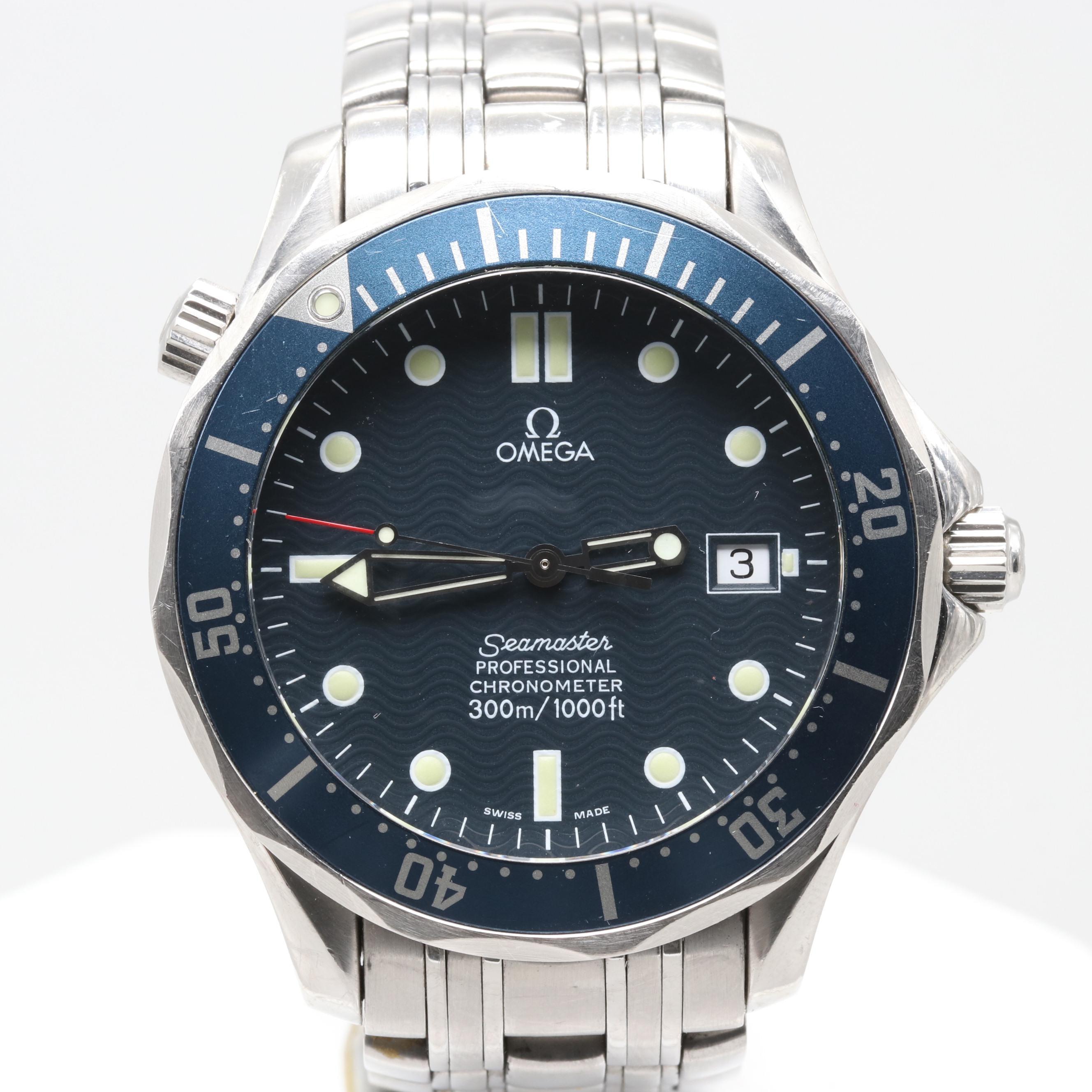 Omega Seamaster Professional Automatic Wristwatch