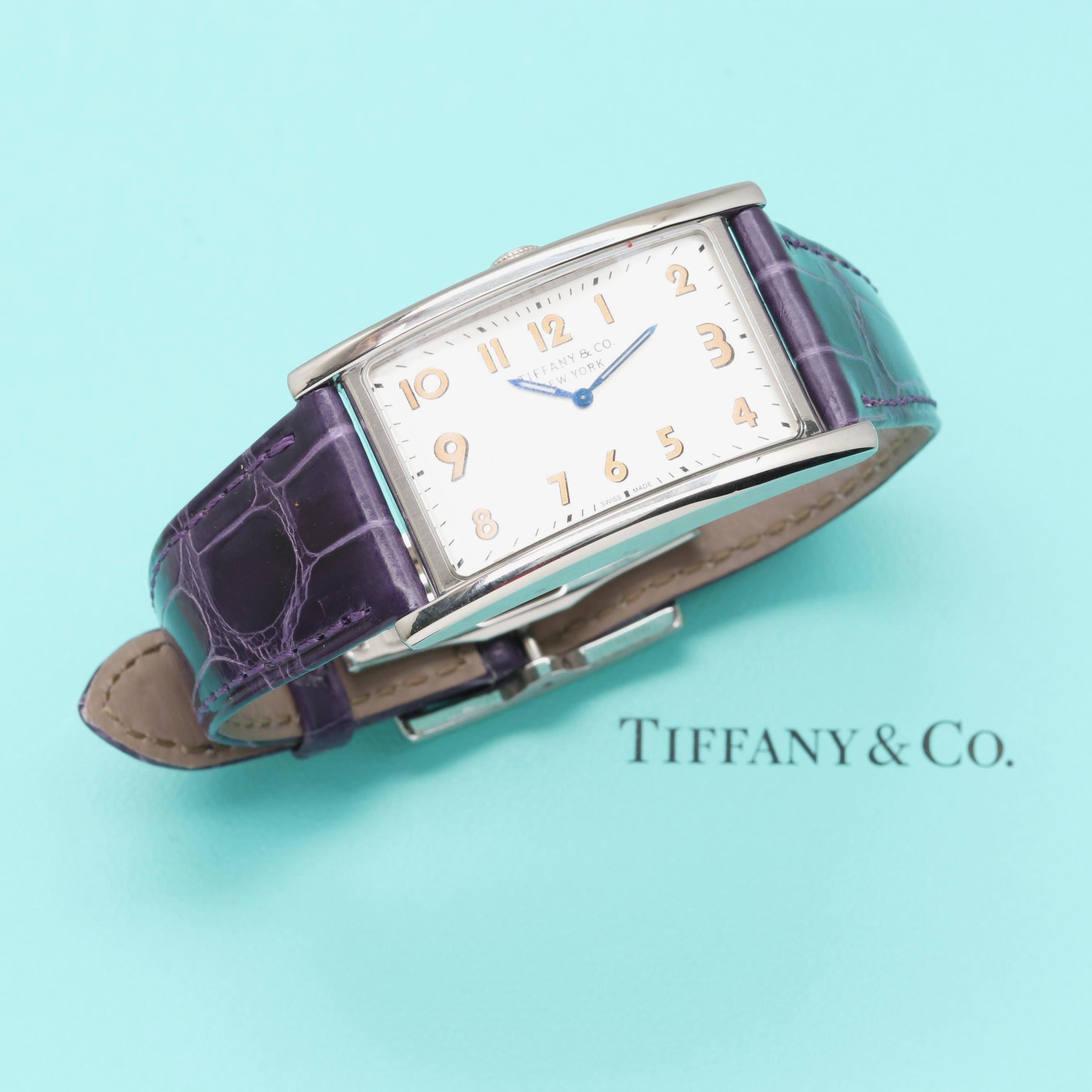 Tiffany & Co. East West Quartz Wristwatch
