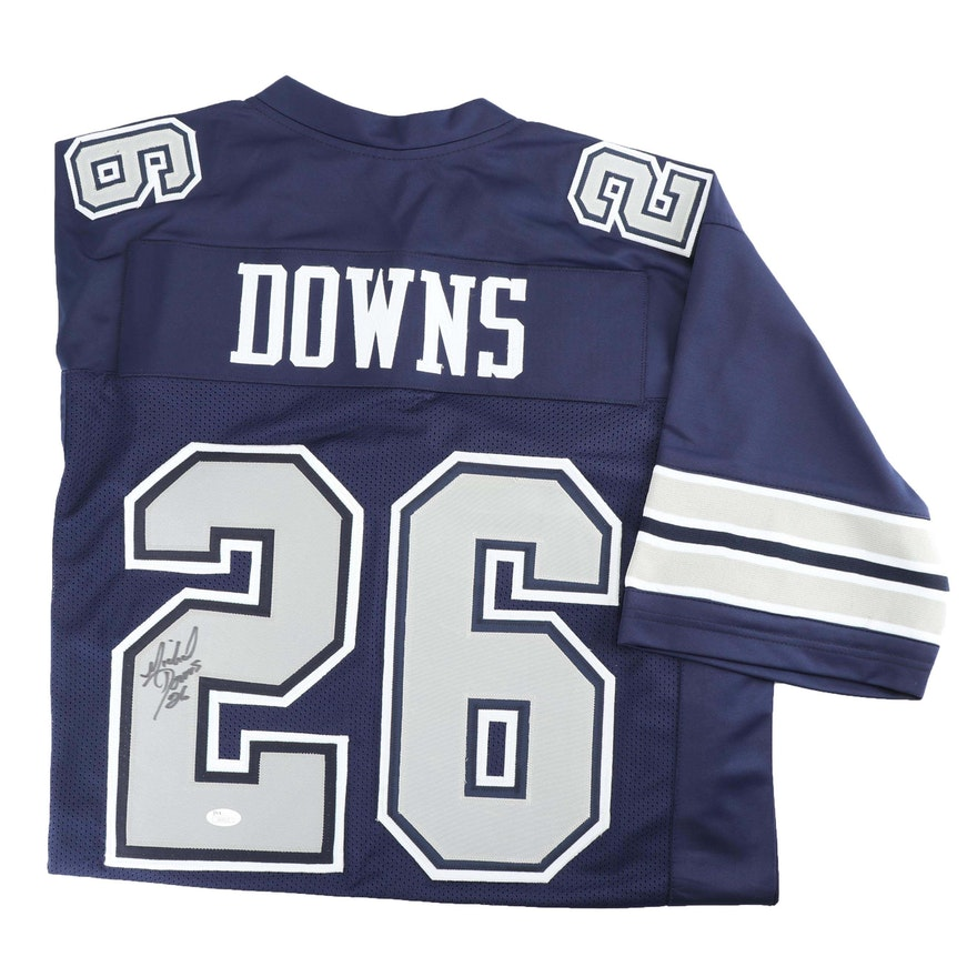 83e5832cb Michael Downs Autographed Dallas Cowboys Replica Jersey - JSA COA   EBTH