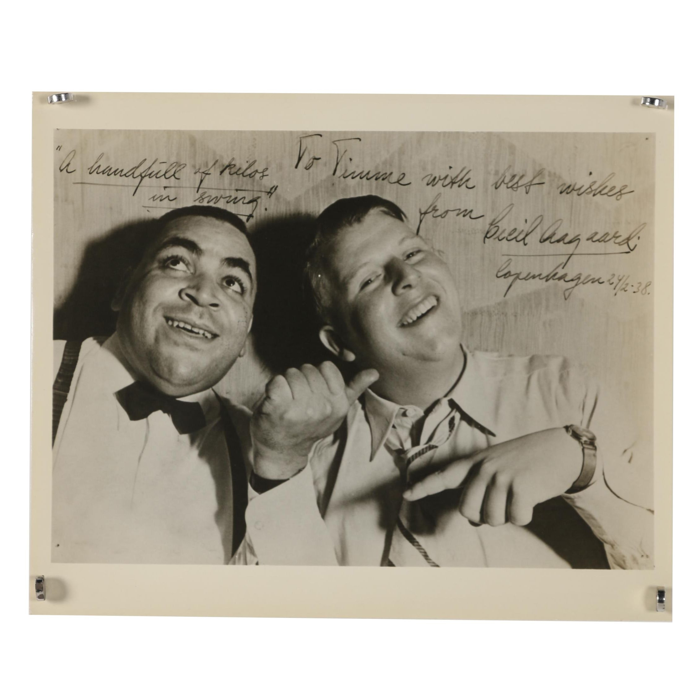 "Jack Bradley Gelatin-Silver Photograph of Thomas Wright ""Fats"" Waller"