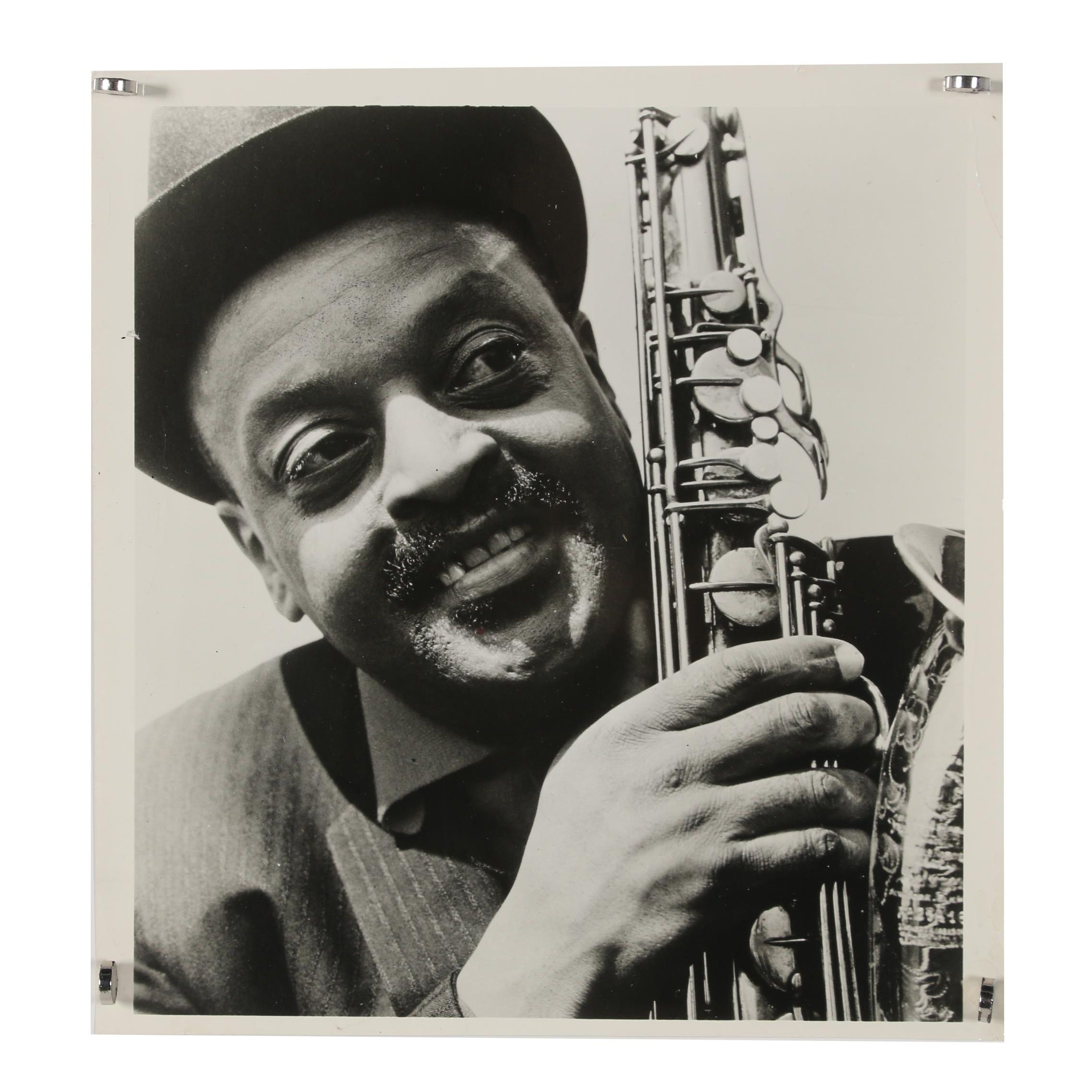 Jack Bradley Gelatin-Silver Photograph of Ben Webster