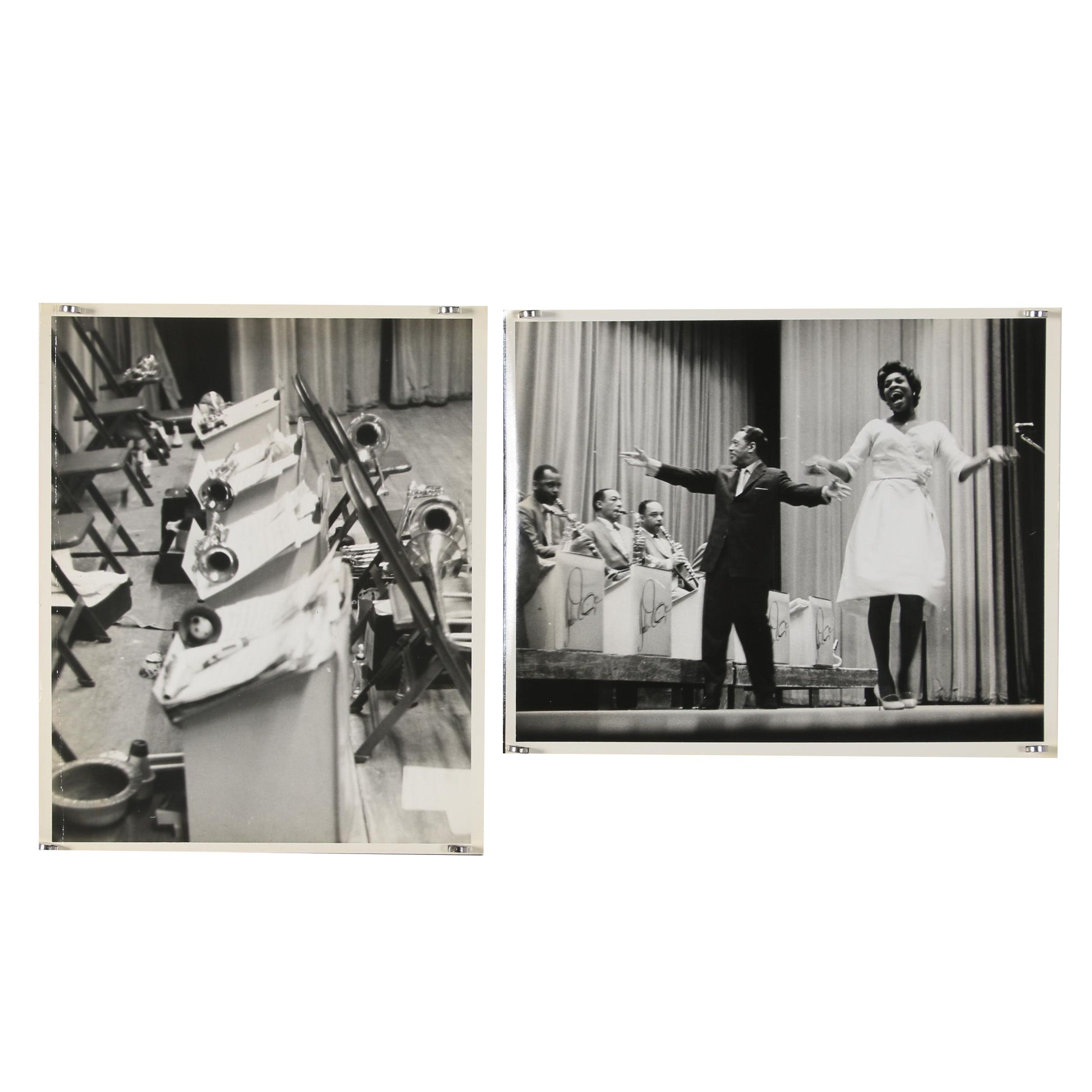 Jack Bradley Gelatin-Silver Photographs of Duke Ellington