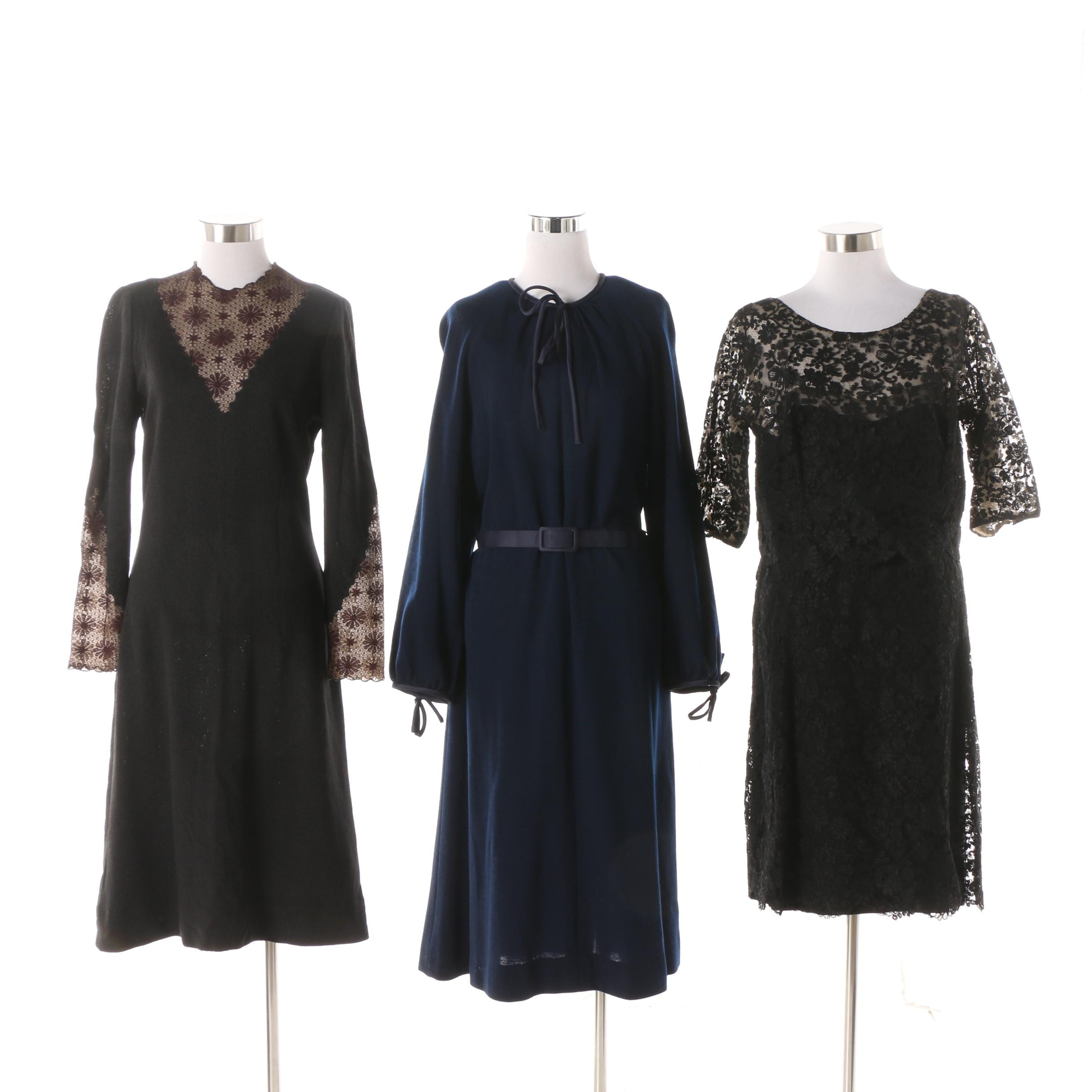 Women's 1960s Vintage Occasion and Cocktail Dresses including Neiman Marcus