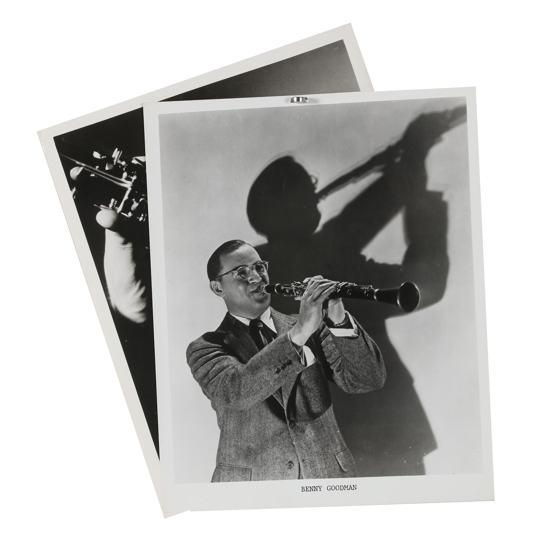 Jack Bradley Gelatin-Silver Photographs of Benny Goodman