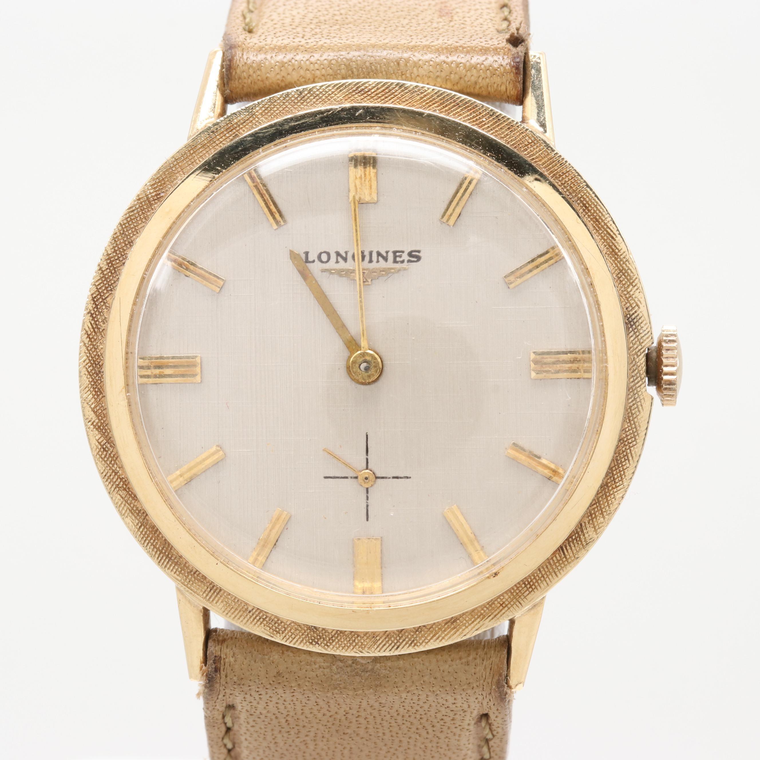 Longines 14K Yellow Gold Wristwatch