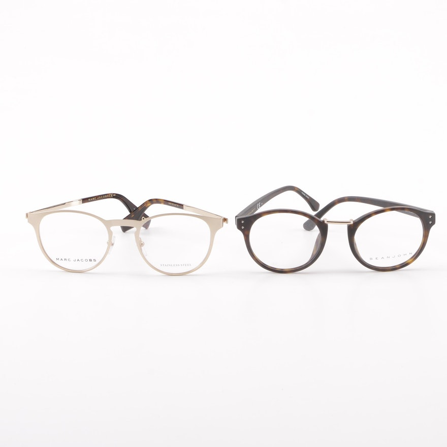 e1d6669f1fb0 Sean John SJ2080 and Marc Jacobs Marc 320 Eyeglasses : EBTH