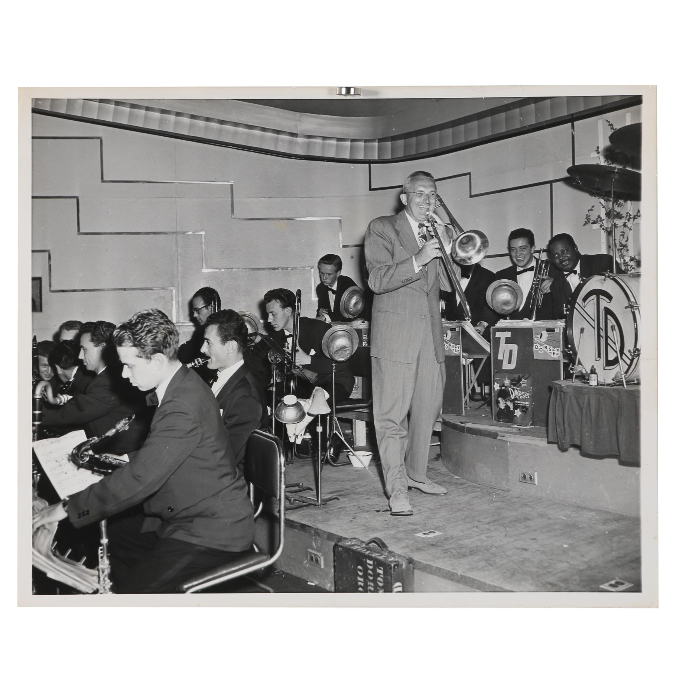Jack Bradley Gelatin-Silver Photo of Tommy Dorsey