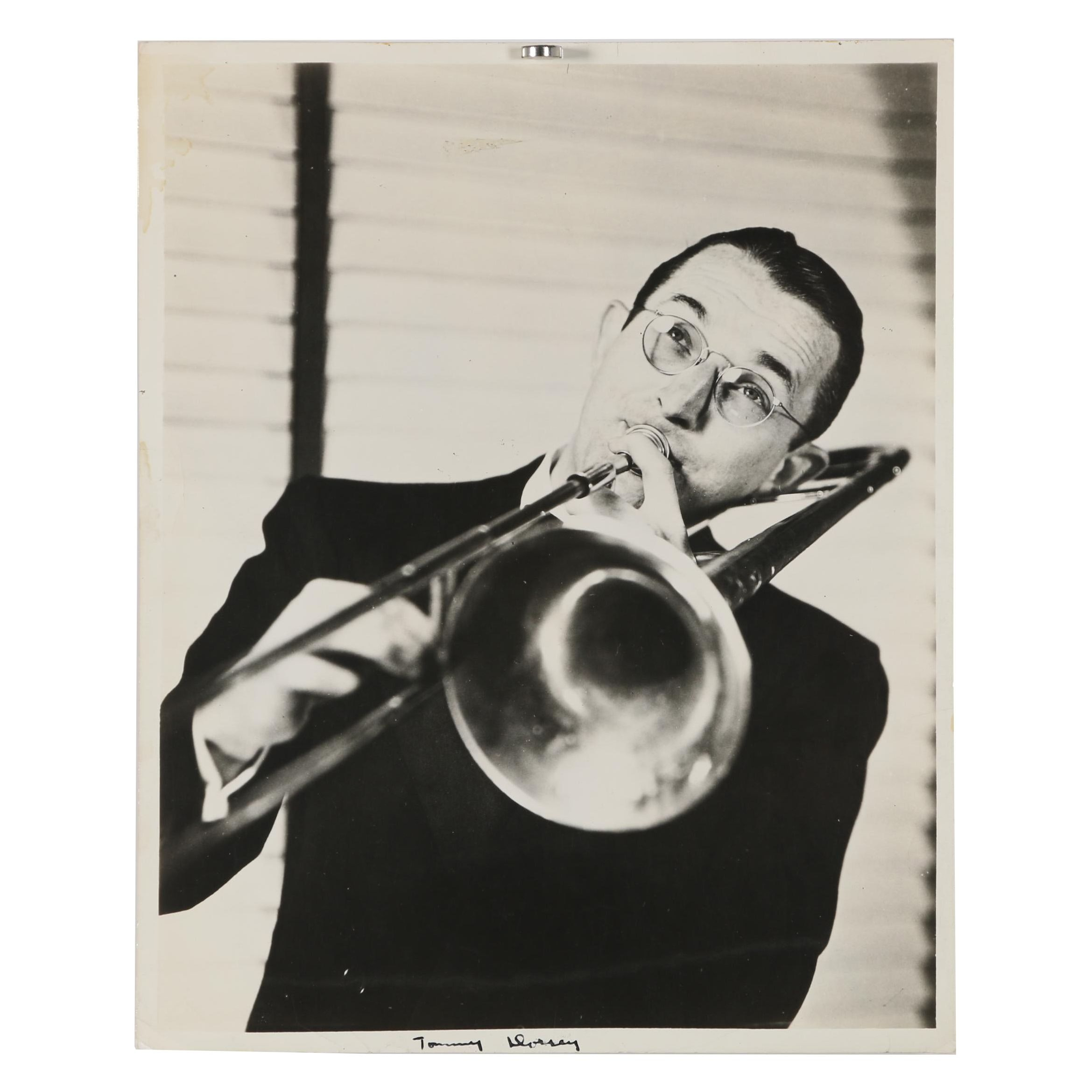 Jack Bradley Gelatin-Silver Photograph of Tommy Dorsey