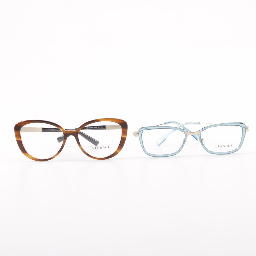 57edf1f111186 Versace Mod.3229 and 1243 Eyeglasses   EBTH