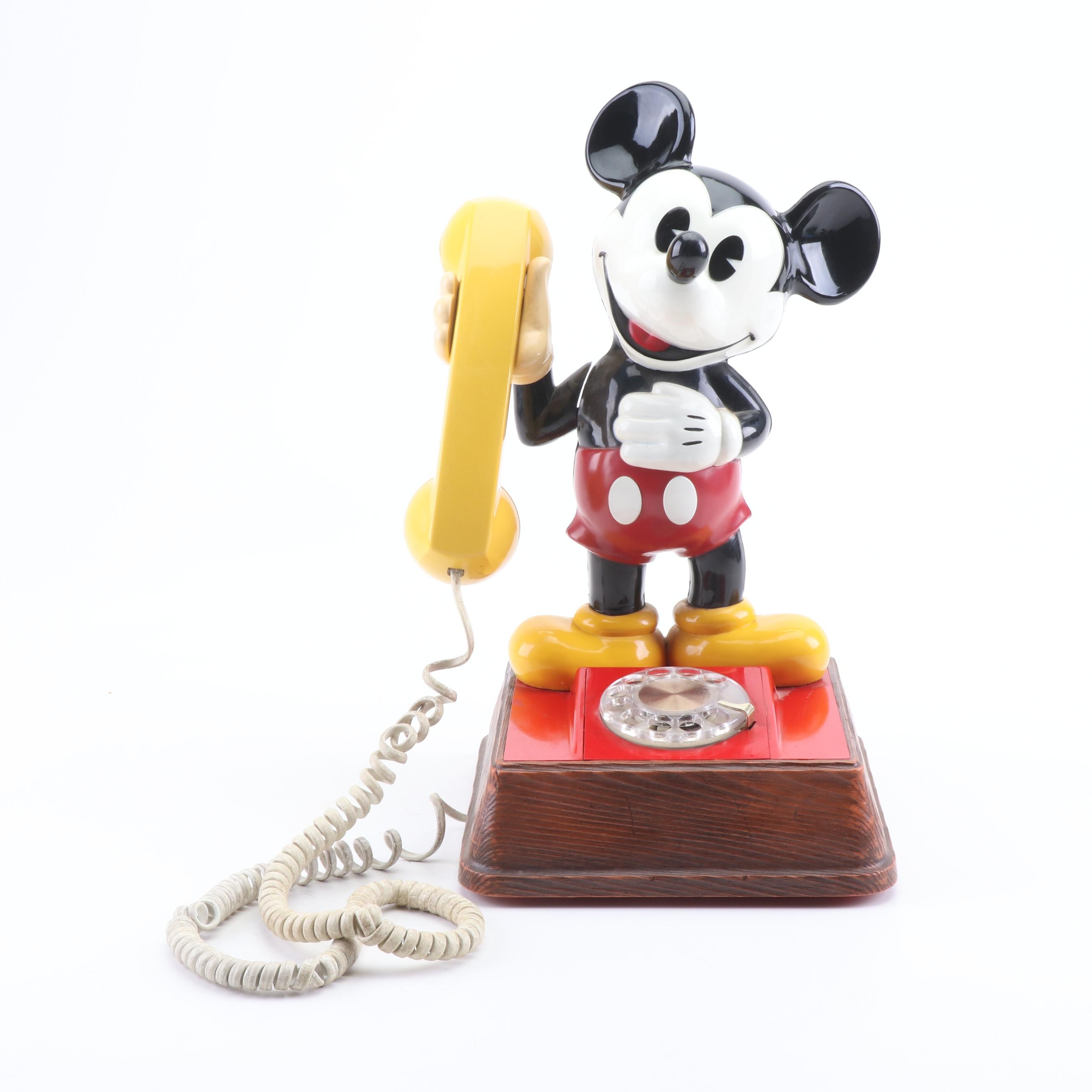 Mickey Mouse Rotary Telephone, 1976