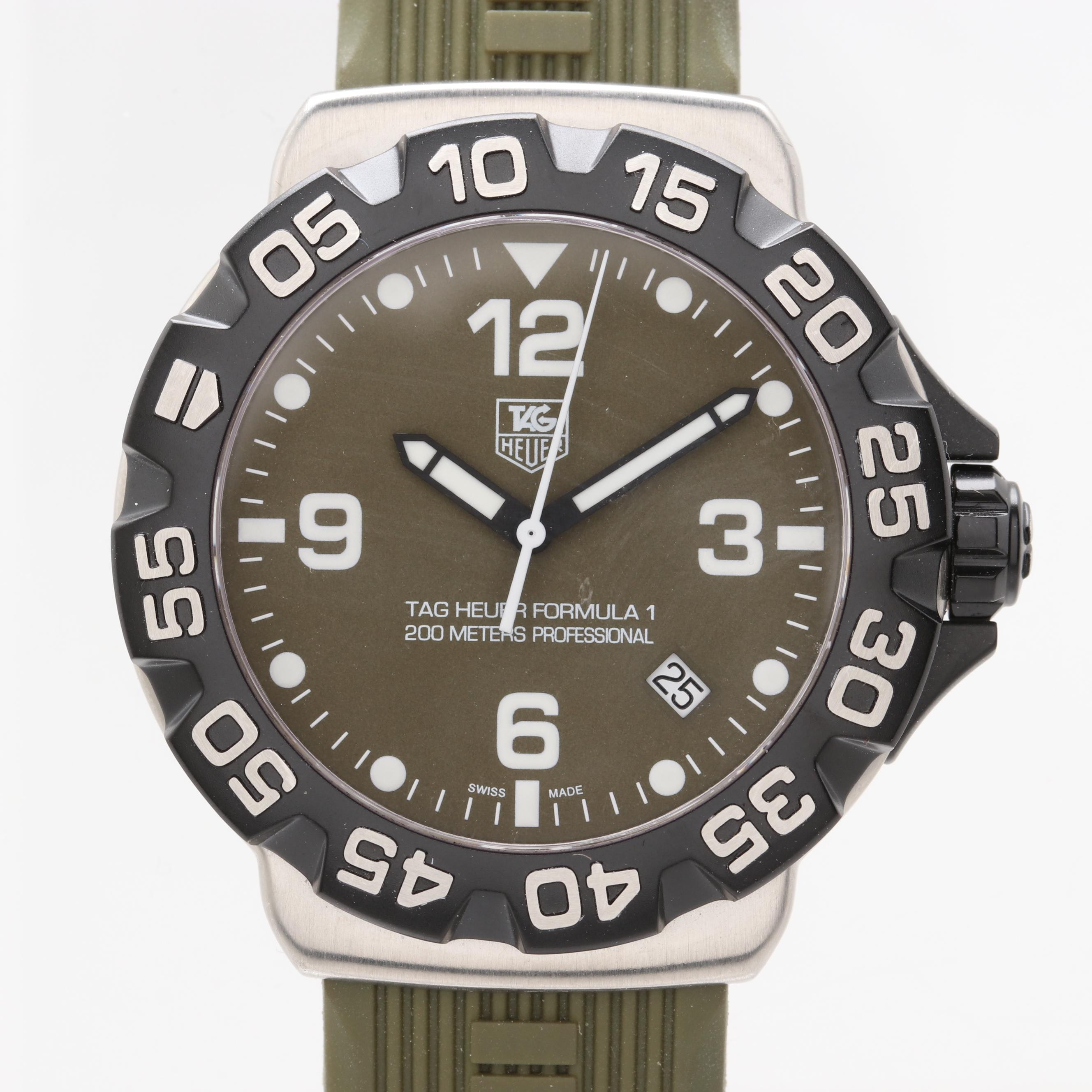 TAG Heuer Formula 1 200 Meters Stainless Steel Wristwatch
