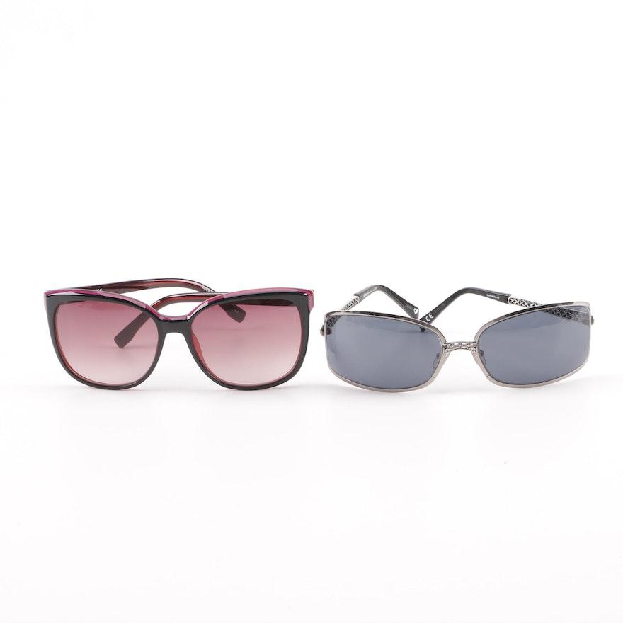 14e85ebe270a Lacoste L747S and Brighton Lady of Seville Sunglasses with Lacoste Case    EBTH