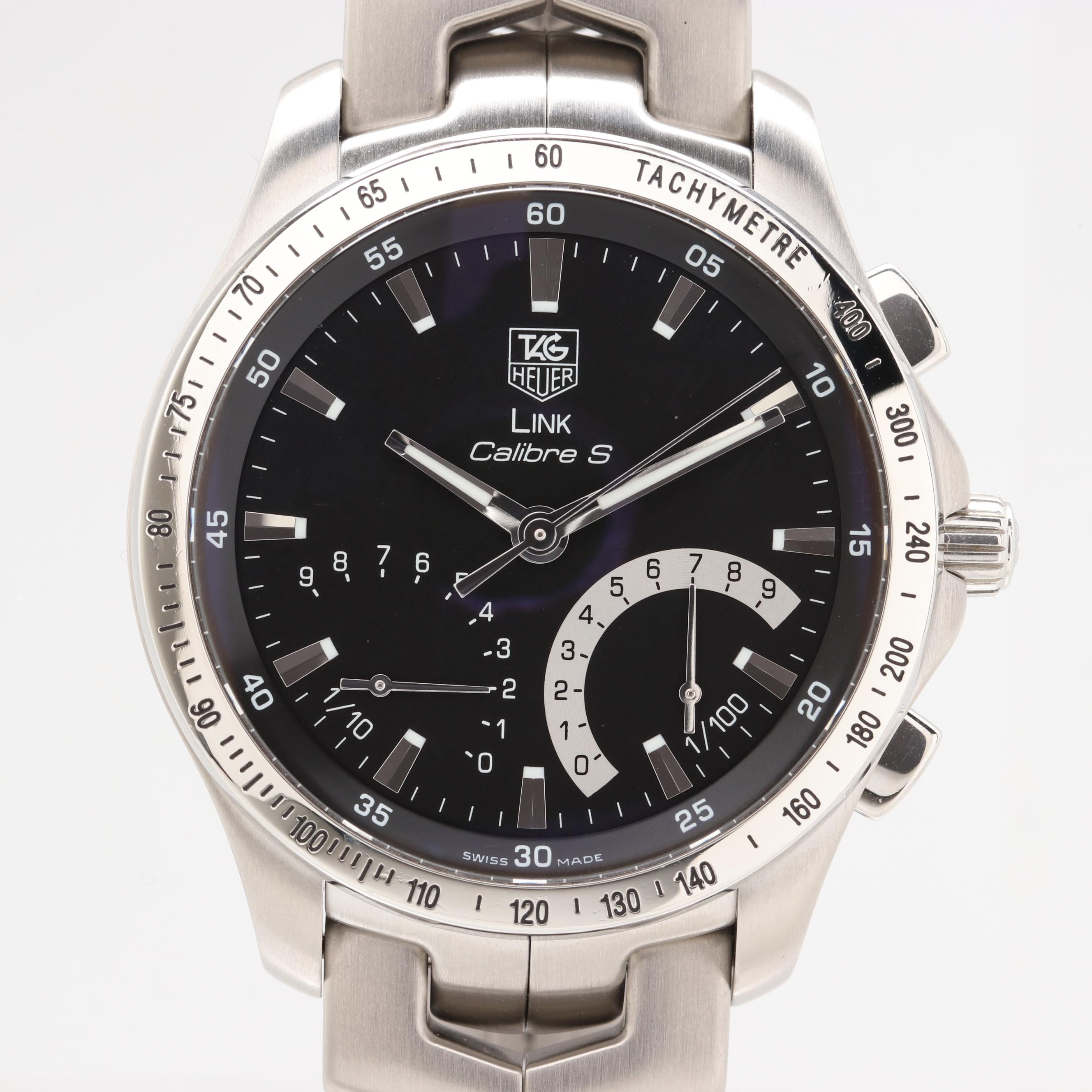 TAG Heuer Link Calibre S Quartz Chronograph Wristwatch