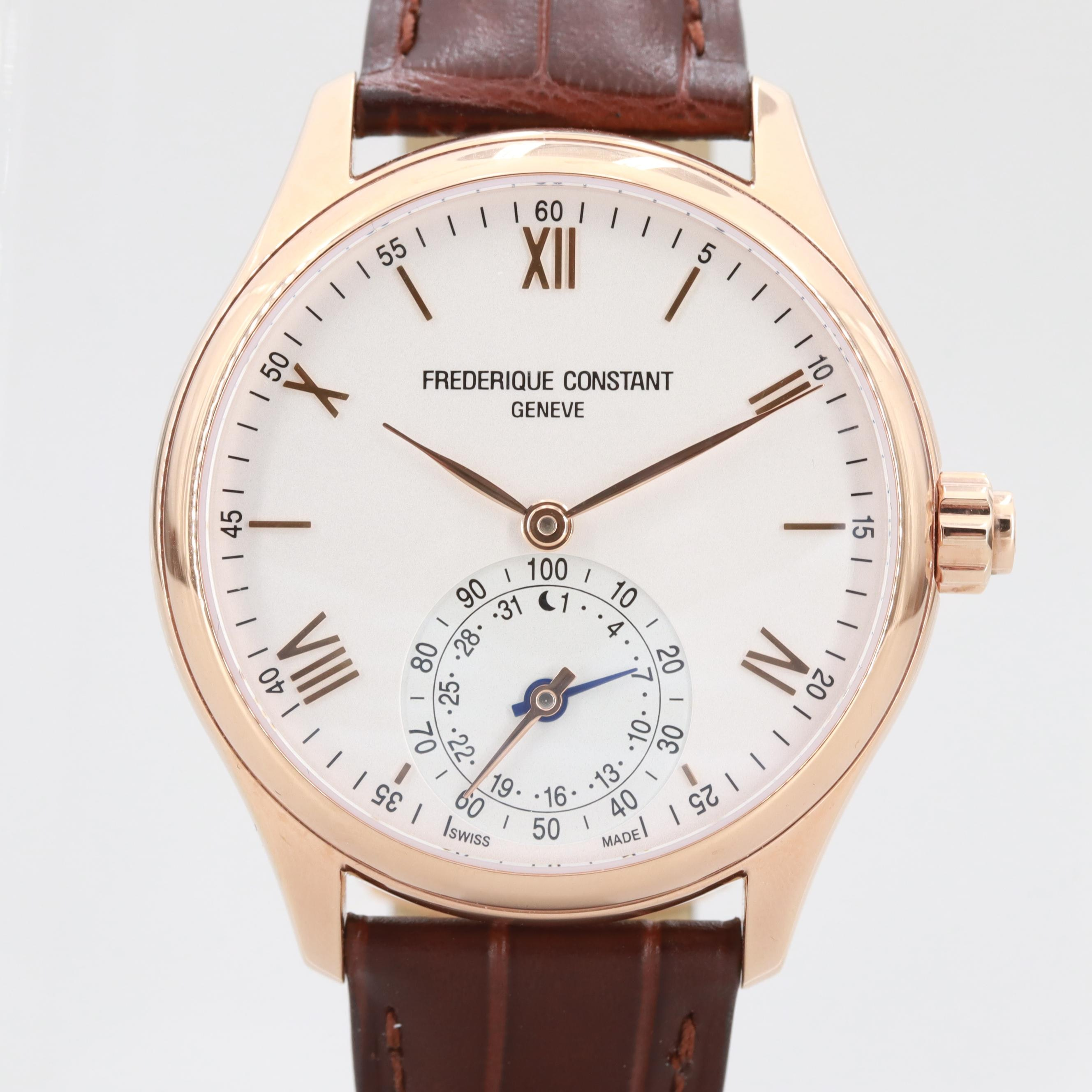 Frederique Constant Rose Tone Horological Smartwatch