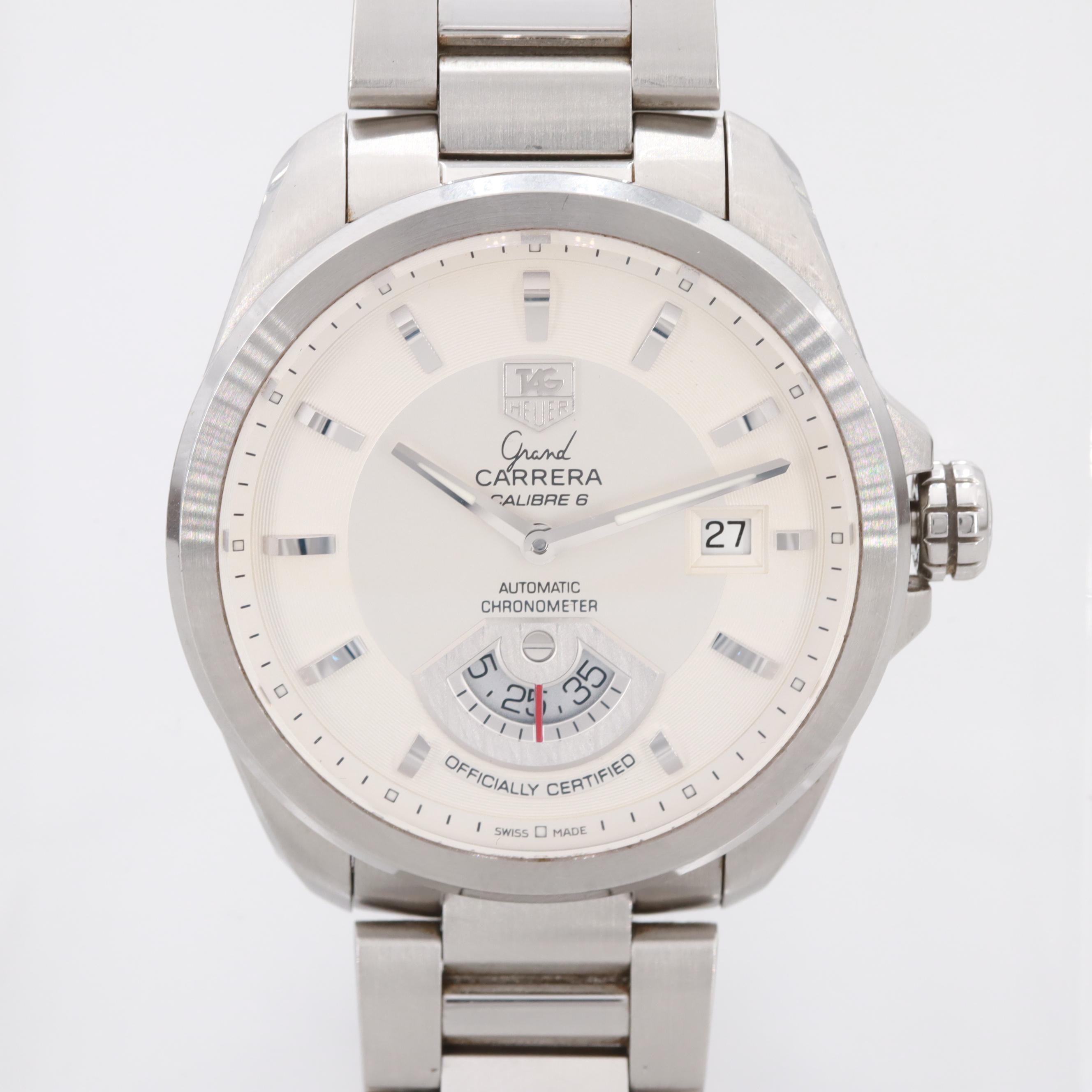 TAG Heuer Grand Carrera Calibre 6 Automatic Wristwatch