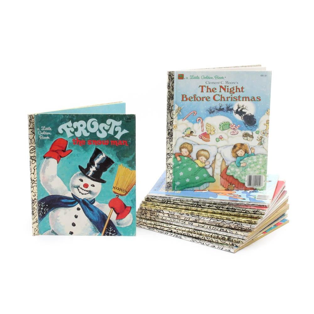 Christmas Themed Little Golden Books