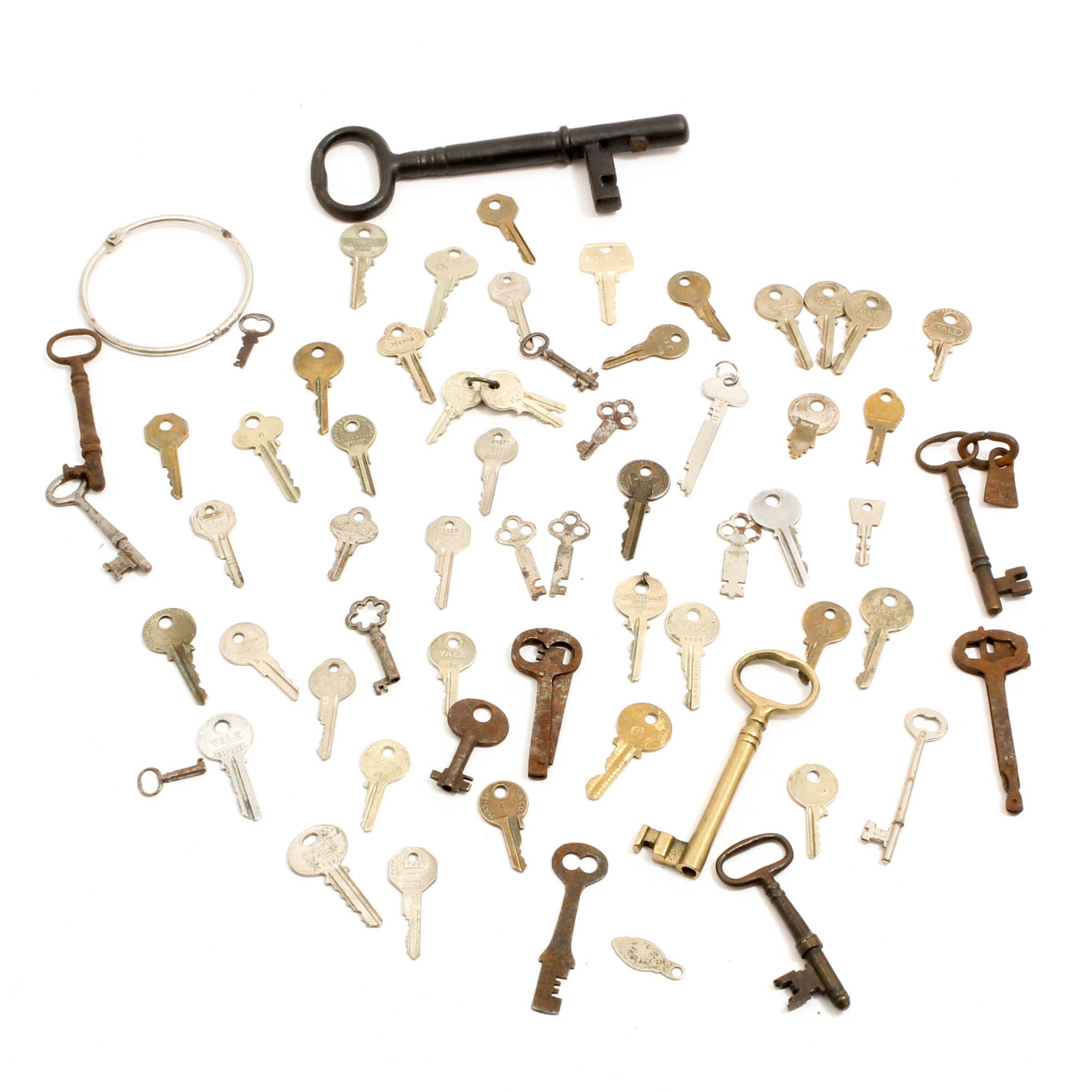 Antique and Antique Style Metal Keys