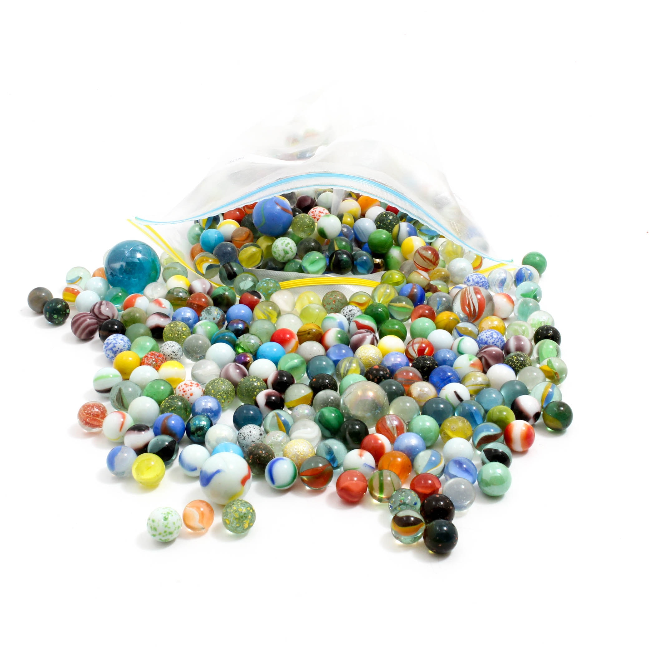 Vintage and Contemporary Glass Marbles
