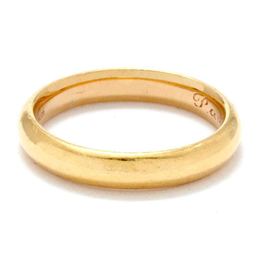 Vintage Tiffany & Co. 18K Yellow Gold High Dome Wedding Band