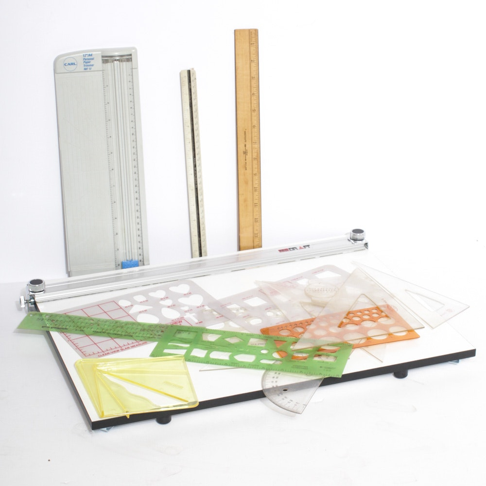 Pro-Draft Drawing Board and Drafting Supplies