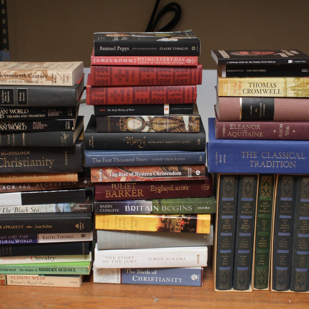 Books on World History, Religion, and Philosophy